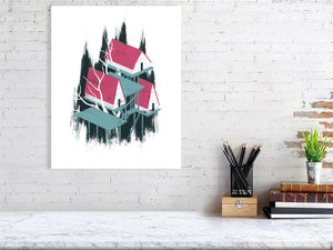 Tree House 1 Art Print Large Howard Kingston