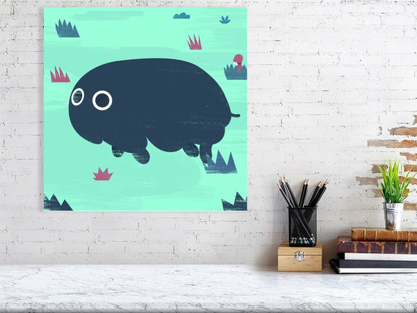 Great Gallump Art Print Large Howard Kingston