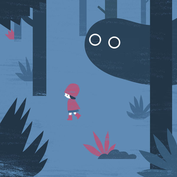 Forest Boo Art Print Howard Kingston