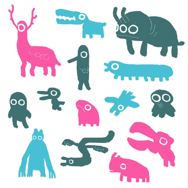 Creatures Menagerie (Square)