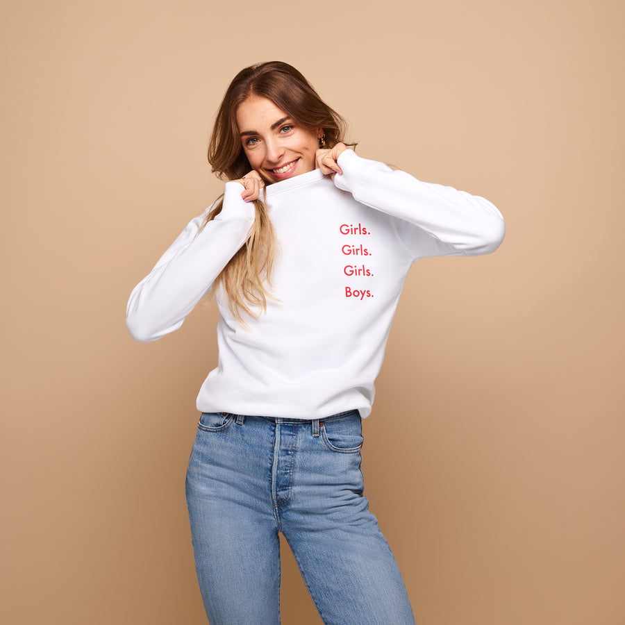 &C COLLECTION <br> Sweater - Girls. Girls. Girls. Boys.