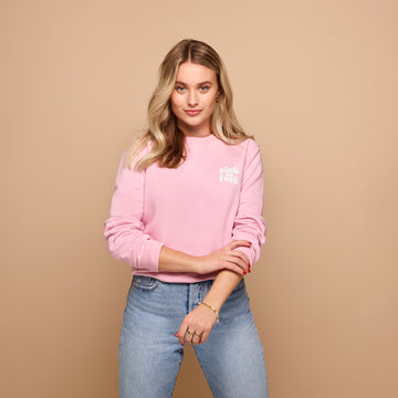 &C COLLECTION <br> Sweater - Pink As Fuck
