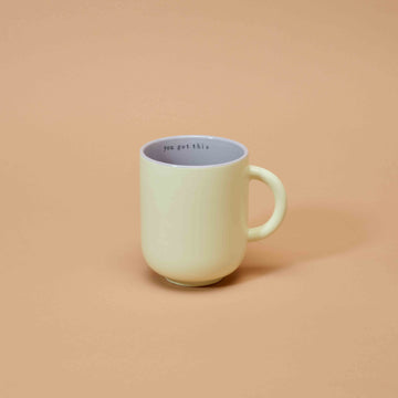 &C x Blond Amsterdam - Pale Yellow Tea Cup