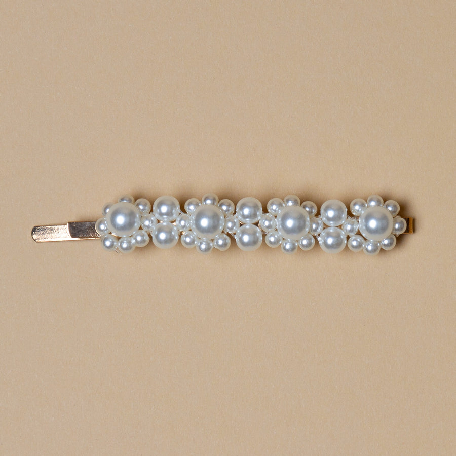 Atelier des Femmes - Hair Clip Pearls Small