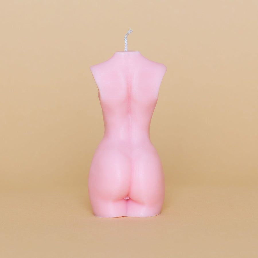 Hustle & Spice - Female Candle Pink