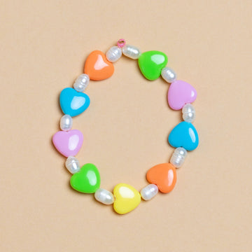 Funky & Fancy - Hearts Bracelet