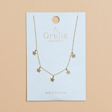 Orelia - Stars Necklace