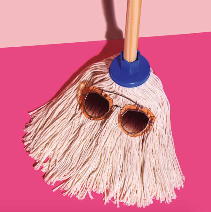 &C Art Collection - Let's Mop
