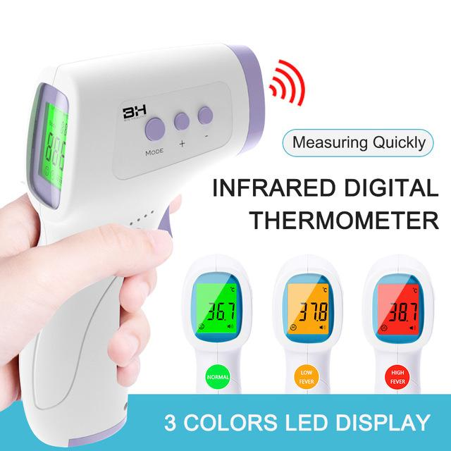 Digital Infrared LCD Non-Contact Thermometer for Baby/ Kids / Adults