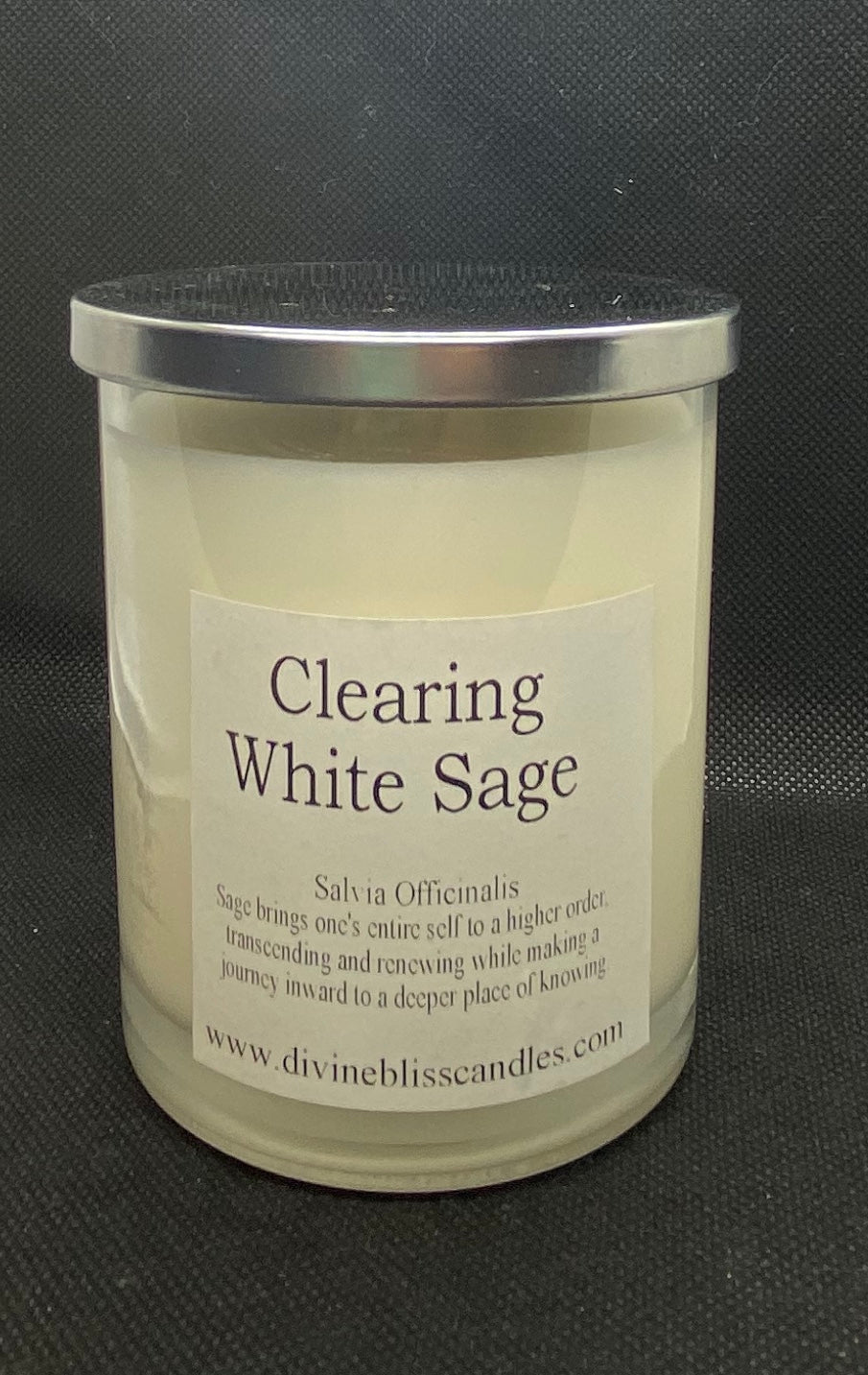 Clearing White Sage Candle