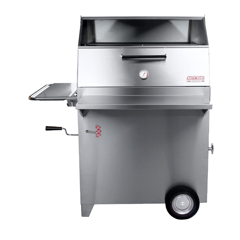 gourmet 257 stainless steel charcoal grill - Charcoal Grills