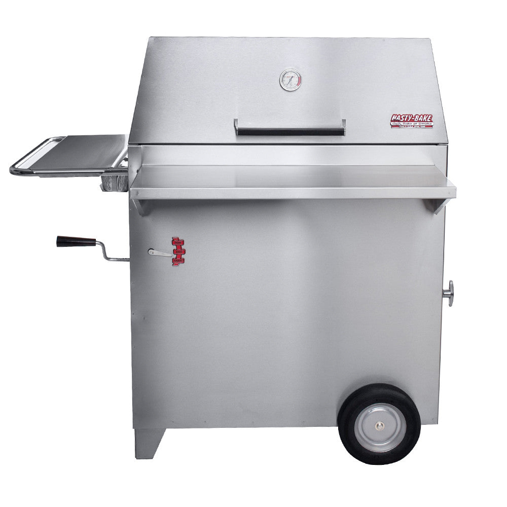 Hasty bake legacy stainless steel charcoal grill