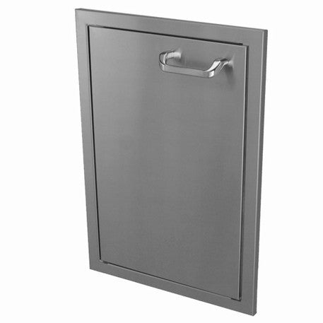 Hasty-Bake 18\  Stainless Steel Deluxe Single Access Door (18X26SD-DLX)  sc 1 st  Hasty-Bake & Stainless Steel Doors \u0026 Drawers for Outdoor Kitchens - Hasty-Bake ...