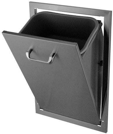 Hasty Bake Stainless Steel Tilt Out Trash Can Tcto 18x26