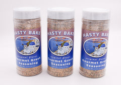 3 Pack Hasty Bake Gourmet Greek Seasoning