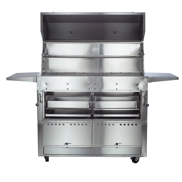 Hastings 290c Stainless Steel Cart Model Charcoal Grill