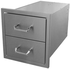 Hasty-Bake Stainless Steel 2 Drawer Unit 18X18 (2DR-18X18)