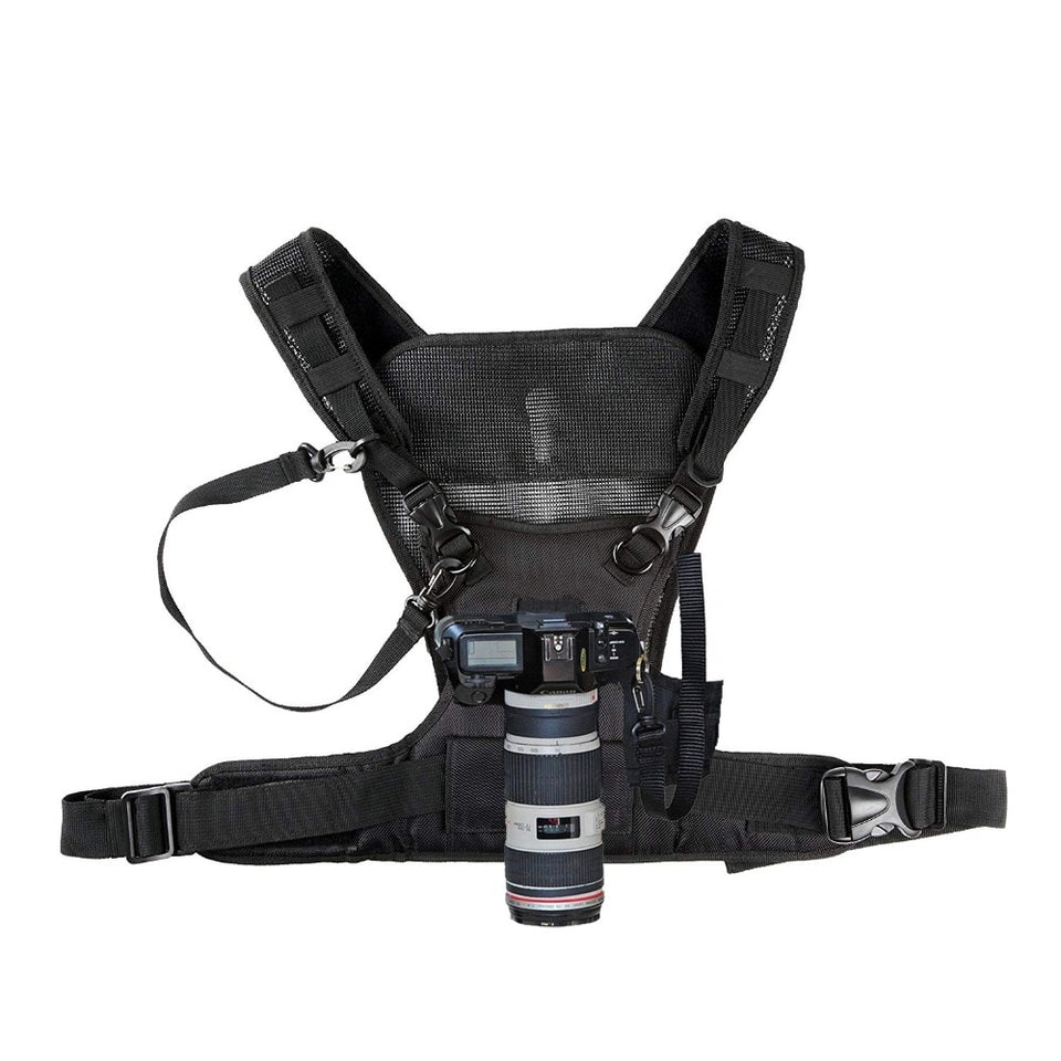 Dual Camera Chest Harness System
