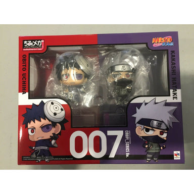Naruto Chimimega Buddy Series Figure 2-Pack Kakashi Hatake & Obito Uchiha Set
