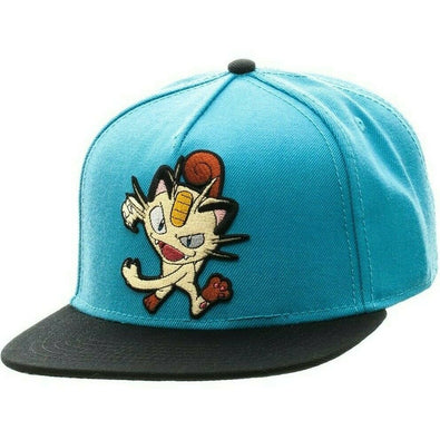 MEOWTH - POKEMON - Baseball Cap Hat - Snapback