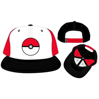 POKEBALL - POKEMON - Baseball Cap Hat - Snapback