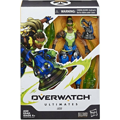 OVERWATCH Ultimates LUCIO 6in Action Figure (Hasbro) NEW - Blizzard