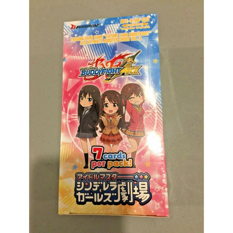 Future Card Buddyfight Ultimate Booster Cross 3: THE IDOLM@STER CINDERELLA GIRLS