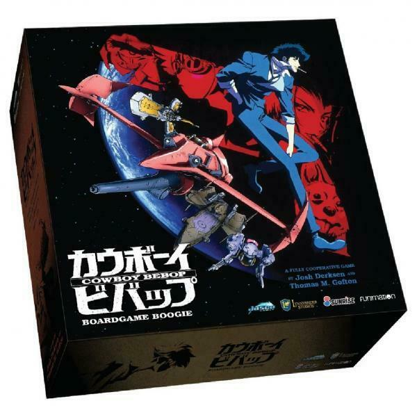 Cowboy Bebop Boardgame Boogie - NEW & SEALED