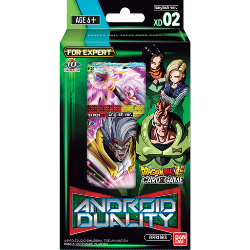 Dragon Ball Super Card Game ANDROID DUALITY Expert Deck (DBS-XD02) NEW+SEALED