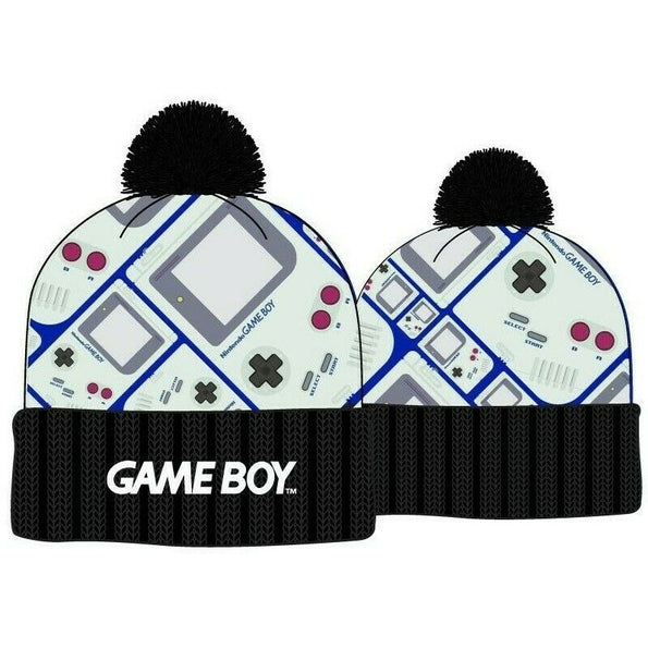 GAME BOY - Nintendo - Winter Beanie Knit Hat - Tuque Toque - FREE SHIPPING !