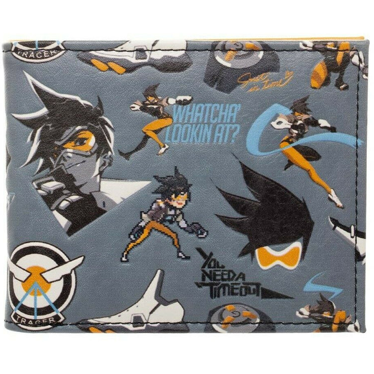 Brand New Overwatch Tracer Bi-Fold Wallet Official Blizzard