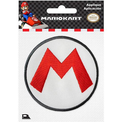 Super-Mario Logo Iron-On - NINTENDO - FREE SHIPPING