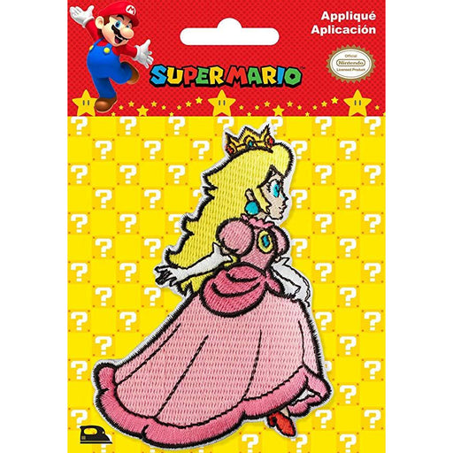 Princess Peach Iron-On - NINTENDO Super-Mario - FREE SHIPPING