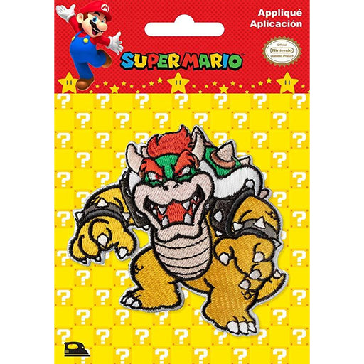 Bowser Iron-On - NINTENDO Super-Mario - FREE SHIPPING