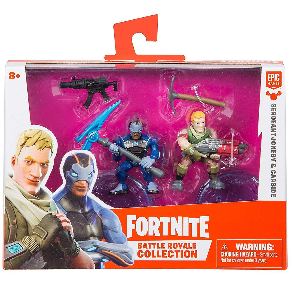 Fortnite Duo Pack Assortment Wave 1 Sergeant Jonsey & Carbide