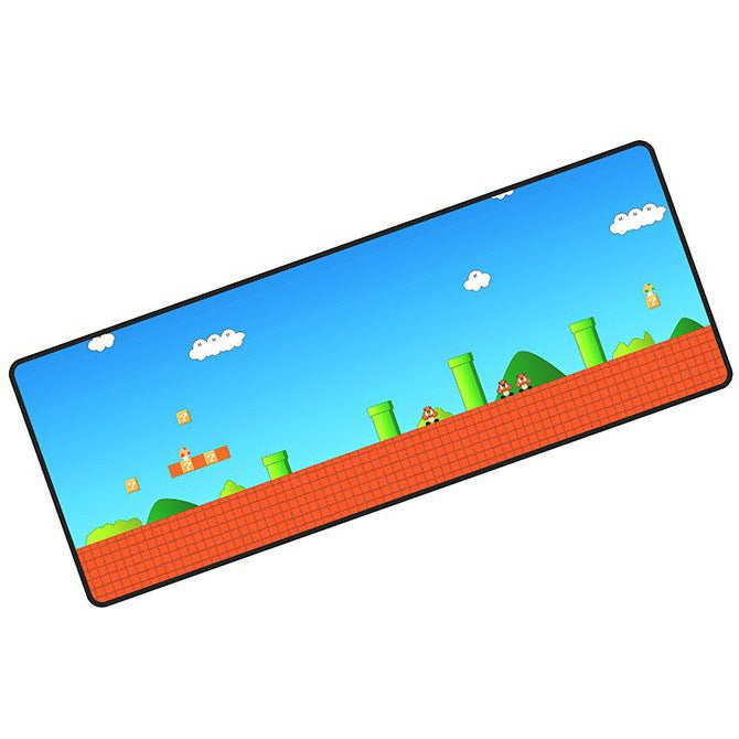 "Nintendo Super Mario - Gaming Mouse Pad (12"" x 31"")"