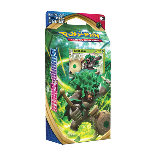Pokemon TCG - Sword & Shield: Rillaboom Theme Deck