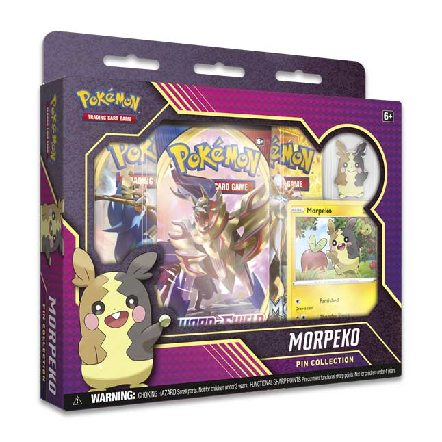 Pokémon TCG: Morpeko Pin Collection