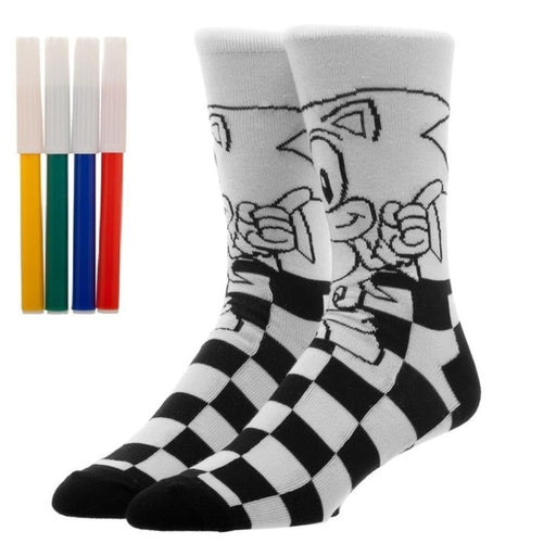 Sonic The Hedgehog - COLOR YOURSELF Socks