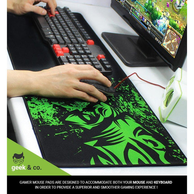 "DC Super Heroes - Gaming Mouse Pad (12"" x 31"")"