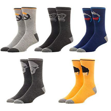 Overwatch - Athletic Socks (Pack of 5) - FREE SHIPPING