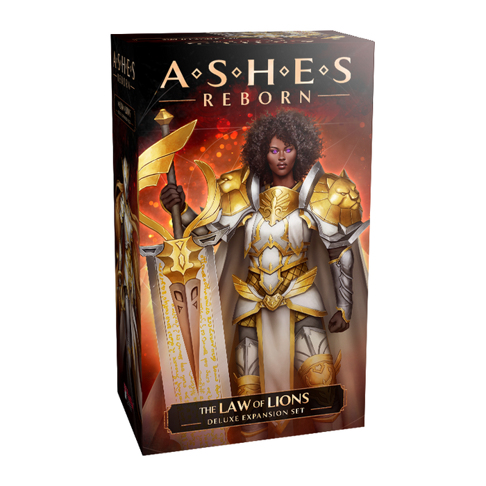 Ashes Reborn: The Law Of Lions - Deluxe Expansion