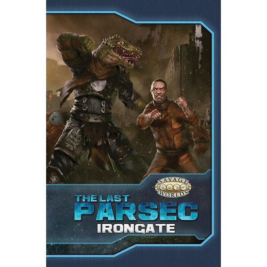 The Last Parsec Irongate HC (RPG)