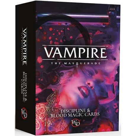 Vampire: The Masquerade DiSCipline/Blood Card Deck (RPG)