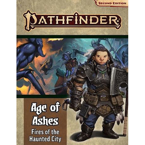 Pathfinder 148 2E Age Of Ashes 4: Fires Of The Haunted City (RPG)
