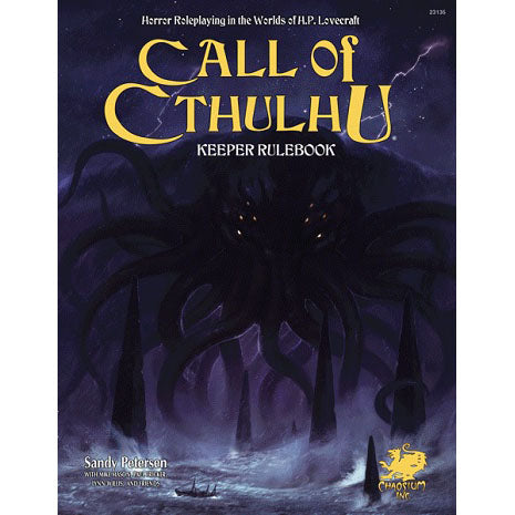 Call Of Cthulhu 7th Edition - Keeper Rulebook (Hard Cover)