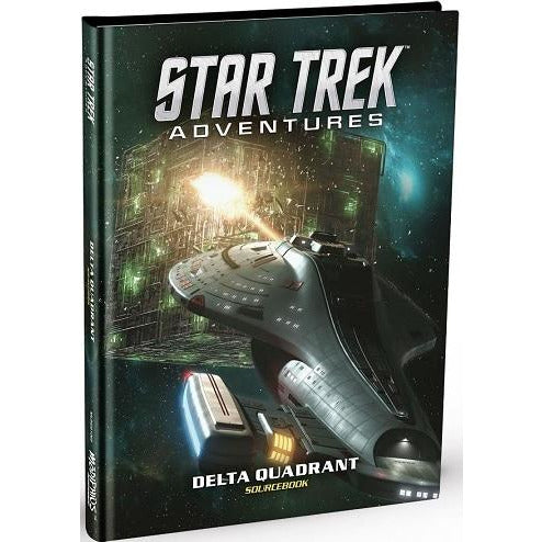Star Trek Adventures Delta Quadrant Sourcebook HC (RPG)
