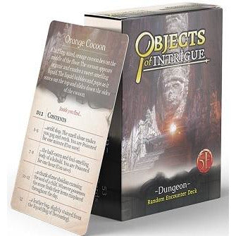 Objects Of Intrigue: Dungeons (RPG)
