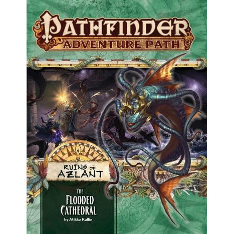 Pathfinder 123 Ruins Of Azlant 3: The Flooded Cathedral (RPG)