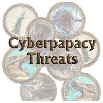 Torg Eternity: Cyberpapacy Threats (RPG)